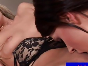 Cherry Jul gets licked out by hot Zoe euro model
