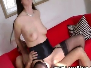 Mature stockings fucked after sucking and cant get enough