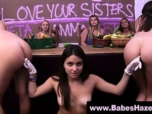 Slutty amateur college teen lesbians