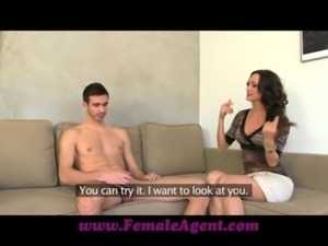 FemaleAgent MILF tests studs endurance free