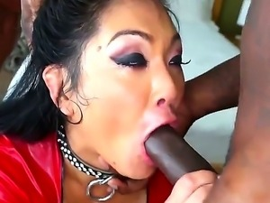 Chick from Asia Mya Minx is going to have a lot of enjoyment with black man...