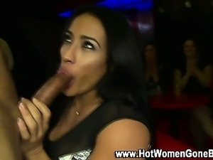 Amateur party cfnm sucking sluts
