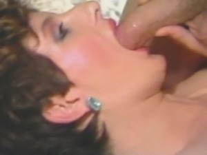 Porn legend Sharon Mitchell takes turns fucking famous studs in the 1985...
