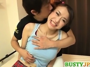 Japanese hottie Kaede Niiyama loves having hardcore sex