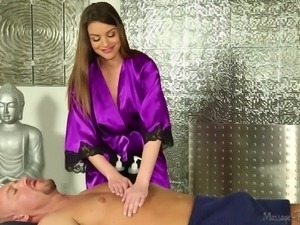 sensual and beautiful masseuse
