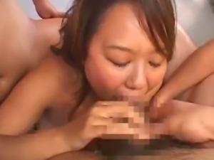 Asian av star FUKO Gang Banged