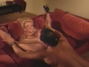 older video of sexy blonde