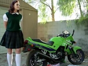 innocent looking but slutty @ corrupt schoolgirls #06
