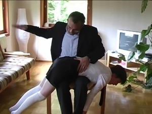 lesson in spanking