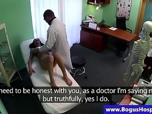 Bogus doctor strips and massages patient
