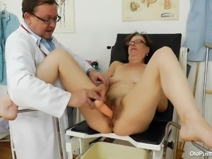 lubed and ready for penetration at the doc