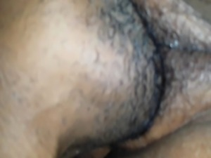 Make my wife pat pussy squirt. free