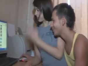 Having caught his teen girlfriend watching half-naked pics from her friend's...