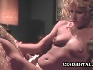 Hot babes Debi Diamond and Rebecca Bardoux eagerly pleasure their man's cock...