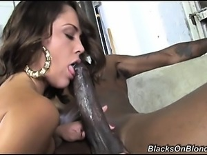 This weeks recipient of a black cock drilling is Kristina