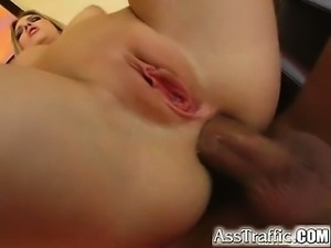 We have a brand new perfect blonde whose ass gets drilled