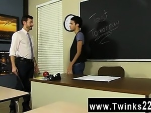 Hot twink When Dustin Cooper is caught snooping for test-ans