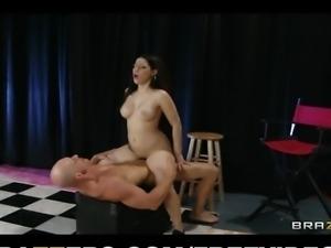 Sexy tattooed dance instructor Daisy Cruz fucks her boss