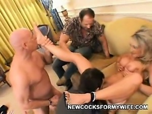 Threesome with Hot Wife