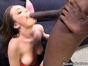 Warning: Do not watch this interracial scene if new girls