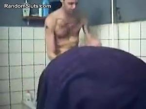 Horny Couple Fucking In The Bath Tub