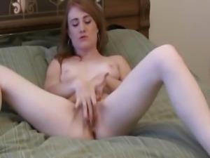 Glamorous Solo Hottie Masturbates Her Tight Pussy