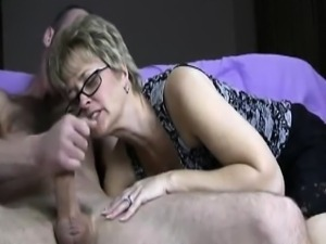 Smart mature cock licker