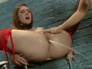 enema for her big naughty ass