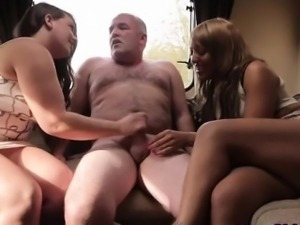Dominas cumshot from old dude