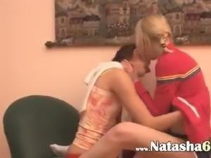 italian Natasha and Alice at home.