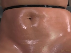 blonde bitch awfully mouth fucked
