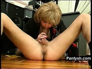 Giant Ass Pantyhose Fetish Lady Fucked