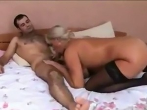 Creampie for Elaine a russian mature