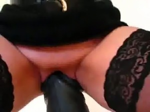Extreme amateur collection of massive dildos