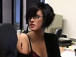 Work quarrel ends up with a hard spanking and fuck