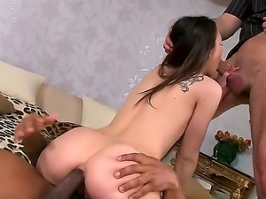 Beautiful hottie Stacy Snake loves to be double penetrated. Today the nymph...