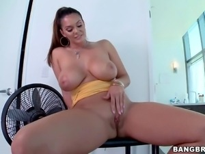Alison Tyler is one naughty adult model with monster curves. Sge exposes her...