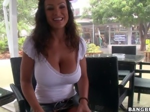 Lisa Ann is an experienced beautiful porn diva. This Bang Bus update is all...