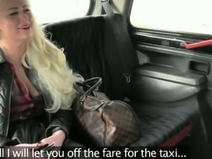 Enormous boobs whore banged at the back seat
