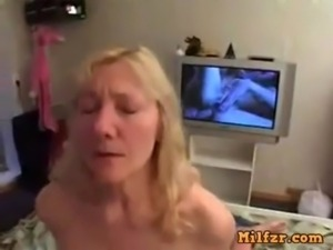 Mom caught son watching porn and fucked free