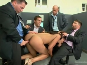 time for a hardcore fucking session in office