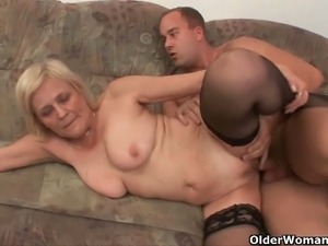 Czech grannies fucked hard