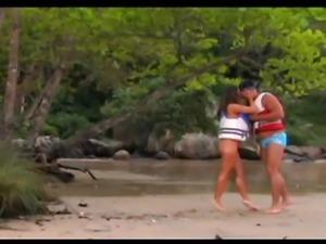 Shell - Hot Latina On Outdoor Sex And A Facial