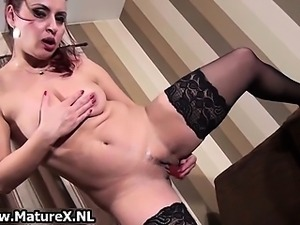 Dirty mature housewife fucking part5