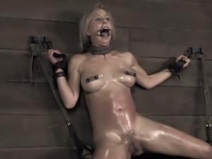 Cherie deville gets her hot ass spanked hard.