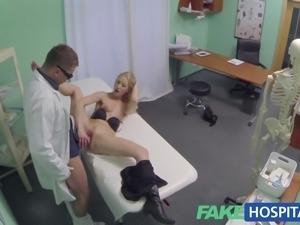 Fake Hospital Hot blonde gets the full doctors treatment
