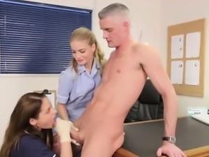 Fetish brit nurse facialized