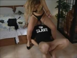 Femdom slaves of sexy Mistress