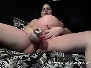 Extreme pregnant and extreme wet