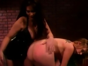 kinky ladies having a spanking fetish time